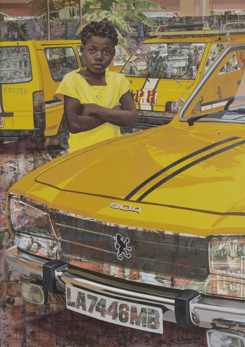 Njideka Akunyili Crosby, The Beautyful Ones Series 7